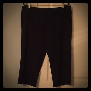 Mossimo 16 Black Cropped Pants